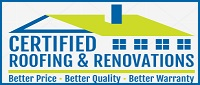 Website for Certified Roofing and Renovations
