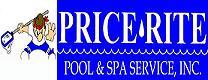 Website for Price-Rite Pool & Spa Service, Inc.
