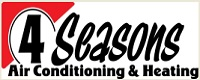 Website for 4 Seasons Air Conditioning & Heating Inc.