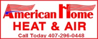 Website for American Home Heat & Air, Inc.
