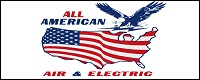 Website for All American Air & Electric, Inc.