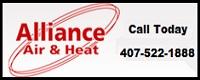Website for Alliance Air & Heat