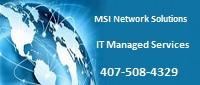 Website for MSI Network Solutions, LLC