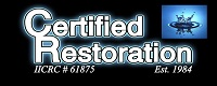 Website for Certified Restoration