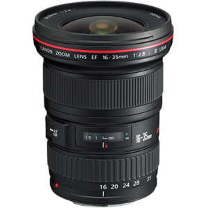 Canon ef 16 35mm f28 lens