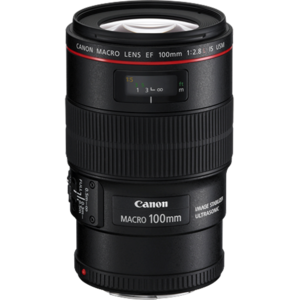 Canon ef 100mm f28 l is macro lens