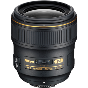 Nikon 35mm f14 lens