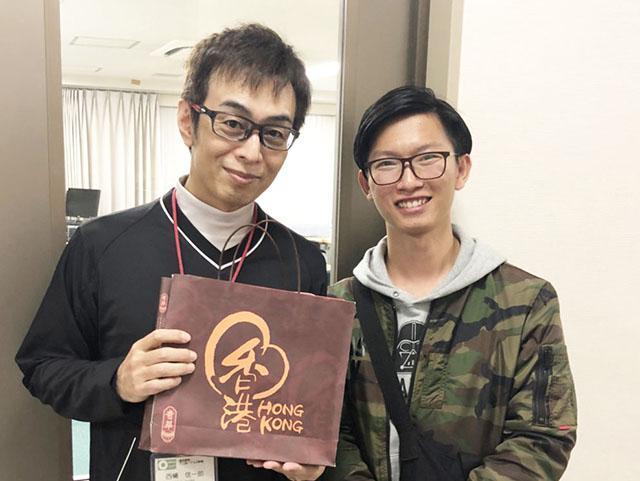 留学生のアニメーターコース卒業生が遊びに来てくれました!
