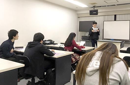 留学生ミーティング開催しました。