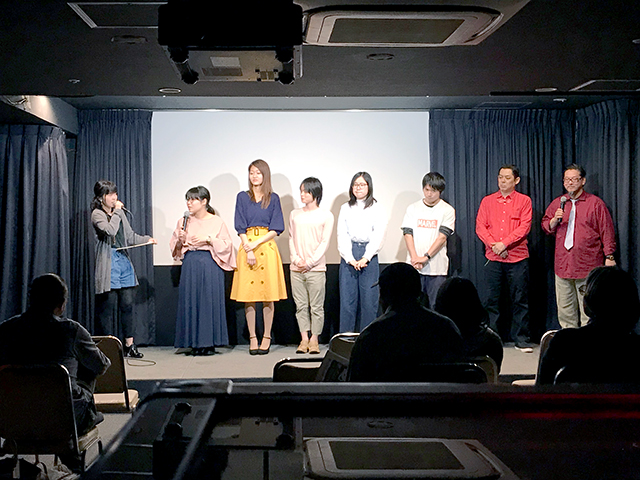 声優アクターズコースの映像制作作品上映会を行いました! ~萌えよ!青春ドラマシアター4~