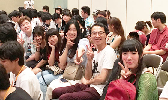 アニカレ祭に東京校留学生が参加されました。