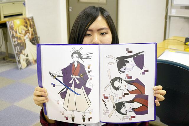 東京にあるアニメーションの企画・制作会社「有限会社スタジオエル」に仕上げ職で内定!