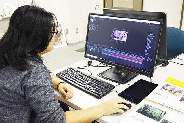アニメーションを主軸とした映像制作プロダクション「株式会社スタジオ雲雀」に撮影職で内定!