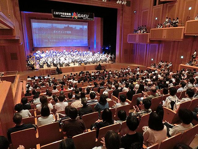 """こおりやま音楽祭""""樂""""2018にMC参加しました!!"""