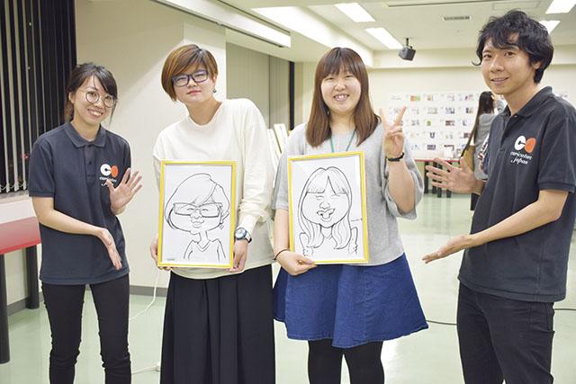 「カリカチュアジャパン」会社説明会