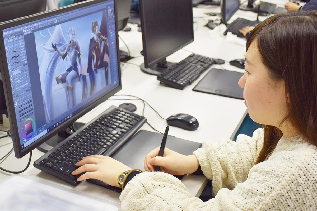 大阪に拠点を置き、ゲーム・システム開発・海外人材派遣を行っている株式会社ジーゼにデザイナー職として内定!