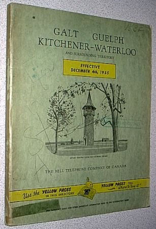 galt guelph kitchener waterloo ontario canada white and yellow pages