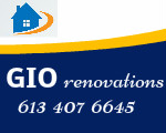 Website for GIO Renovations