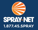 Website for Spray-Net Ottawa West