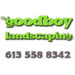 Website for Goodboy Landscaping