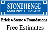 Website for Stonehenge Masonry Company