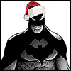 Christmas hat Batman
