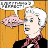 mary worth telling a fish everything's perfect