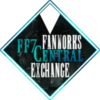 "Diamond shaped icon with the words ""FF7 Central Fandom Exchange"" against a background of Midgar."