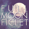 """FULL MOON FICLET icon - picture of a full moon with the text """"FULLMOONFICLET"""" over it"""