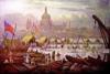 The Frozen Thames, London 1814