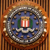 Logo for the FBI's section of the Department of Justice