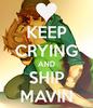 Keep Crying and ship Mavin