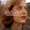 scully 'full of grace, force, fascination'