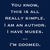 author is doomed from muses