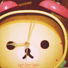A cutesy clock