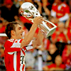 Philipp Lahm lifiting the 2010 Supercup