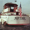 Riptide, stern view