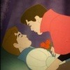 Disney Princes about to share True Love's Kiss