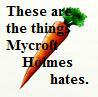 These are the things Mycroft Holmes hates.