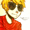Homestuck - Dave Strider. Icon by appearify @ lj