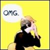 """savvygambols default icon - ryan ross saying """"omg"""""""