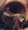 Diogenes of Sinope as painted by John Waterhouse.
