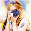 emma with a camera