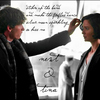 Newt & Tina — Strike up the band, and make the fireflies dance, silver moon's sparkling... so kiss me