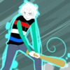 A Homestuck-style sprite of me