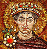 Imperator Justinian I, not yet a Basileus
