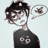 Icon of Karkat shaking his fist at the screen.