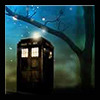 starlit TARDIS