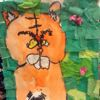tiger mixed media by my daughter