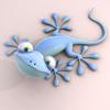 a gecko - my talisman